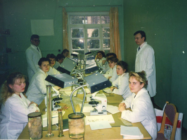 1993-unterricht-studenten-gomel-medical-state