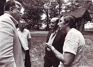 Fred Stohlmann Rolf Neth Ron Mc Caffery Robert C Gallo Wilsede 1973
